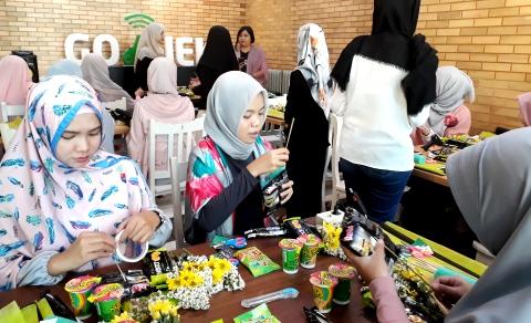 GO-JEK Ajak Perempuan Bikin Ramadan Bermanfaat
