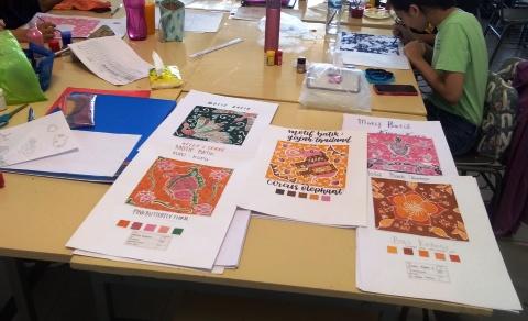 "Wujud Kecintaan Generasi Muda Pada Batik : ""Buat Motif Sendiri"""