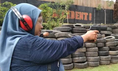 NINE TO REMEMBER : Berlatih Menembak dan Memanah bersama Pasukan Khusus