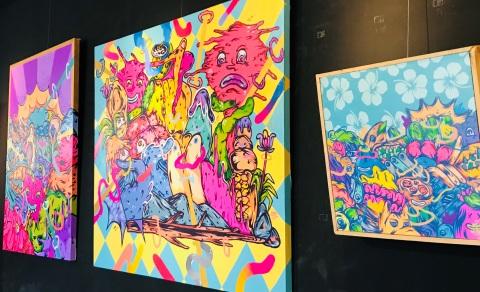 Pameran Pop Art Street Color Karya Yudha Ramadhan