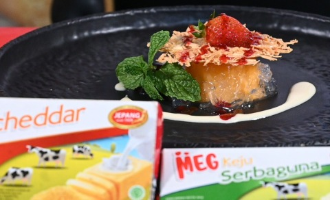 Resep Beef Cheese Roll dan Mango Pudding : Intip Dapur Chef with MEG CHEESE
